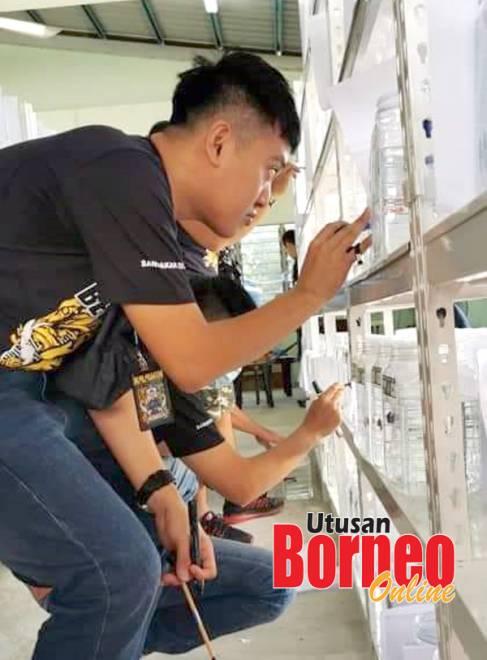 Joseph menjadi pengadil pertandingan ikan laga terbesar di Sabah pada bulan September lepas.