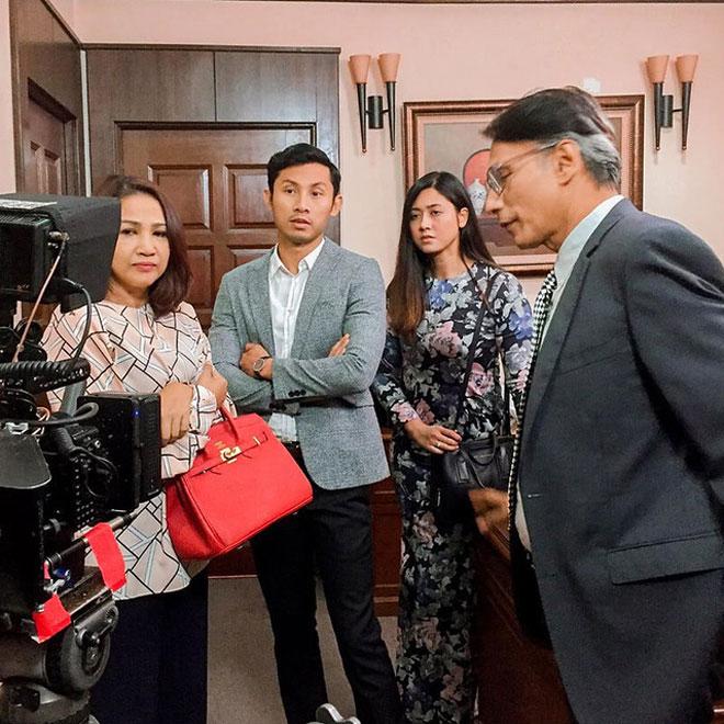 Penggambaran drama 'Cinta Untuk Raf' yang mengisi slot Bidadari di TV1, setiap Isnin hingga Jumaat, jam 3.05 petang.