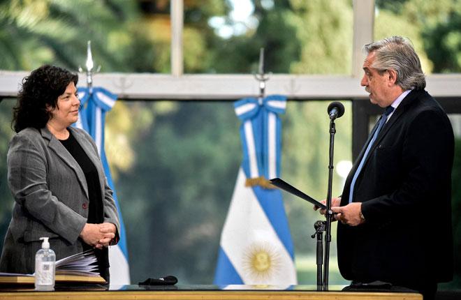 Argentina pecat menteri kesihatan salah guna kuasa