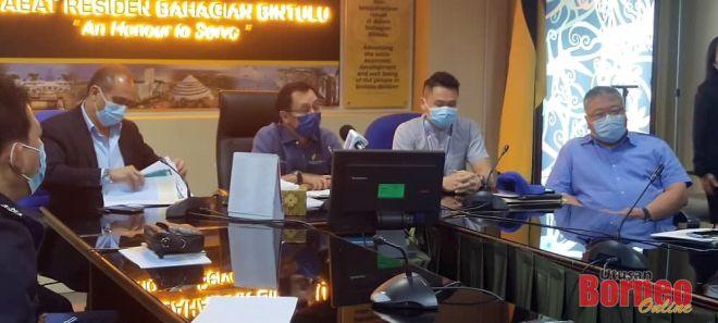 Dr Rundi pada dalam sidang media selepas selesai mesyuarat, hari ini.