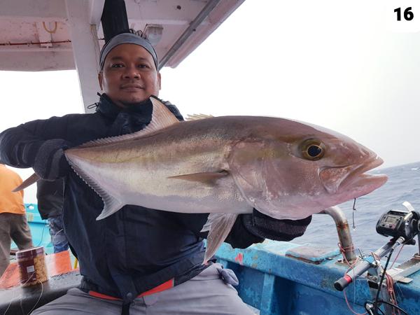 Riduwan berjaya menewaskan seekor Kingfish mega.