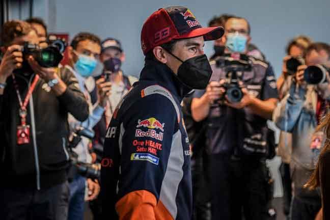 Marquez kembali setelah sembilan bulan rehat