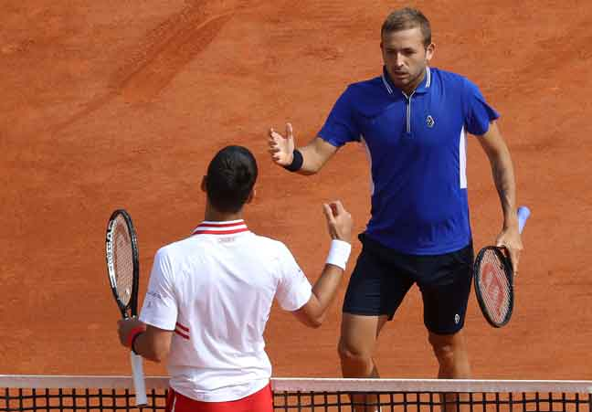 Djokovic tersingkir dari kejohanan Monte Carlo Masters
