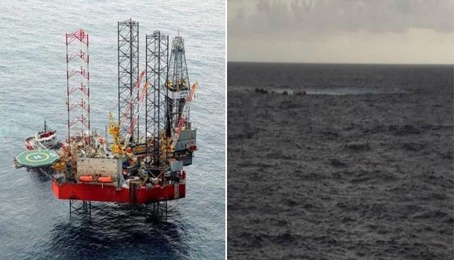 Pelantar Naga 7 tenggelam di laut