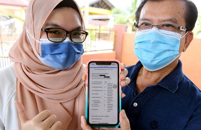 Semangat arwah ibu, dorong Aleya Atiqah meraih 9A dalam SPM 2020