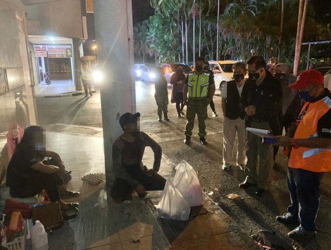 13 gelandangan ditemui dalam Operasi Pemantauan Gelandangan