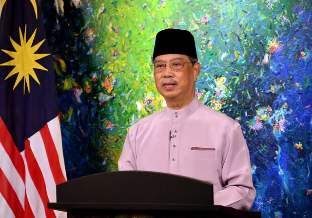 Perdana Menteri Tan Sri Muhyiddin Yassin. - Gambar Bernama