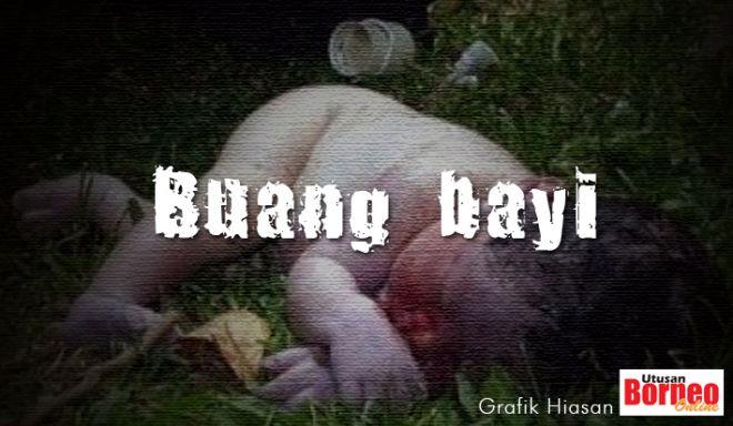 Mayat bayi perempuan ditemukan dalam longkang