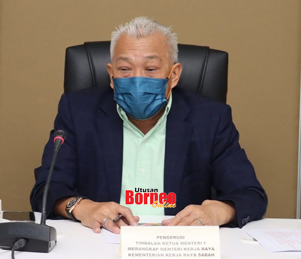 Bung ketika mempengerusikan mesyuarat pertama Jawatankuasa Menangani Banjir Kilat