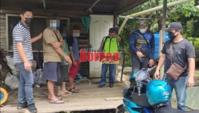 Tiga pengedar dadah tumpas, khayal ketika ditangkap