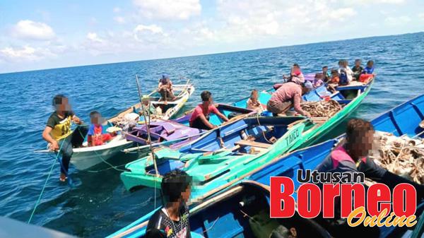 Kesemua warga asing yang cuba menyusup masuk ke perairan Semporna berjaya diusir balik.
