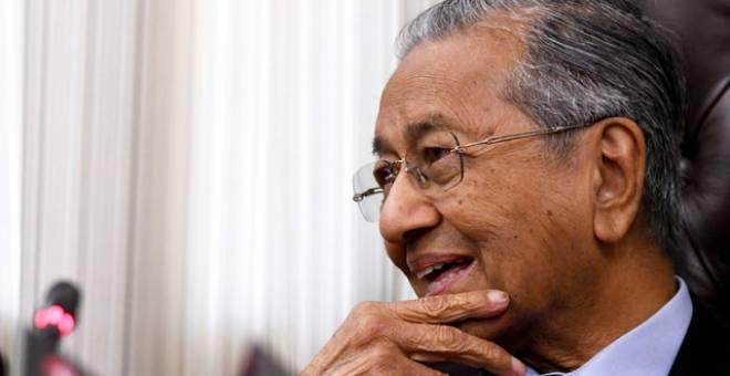 DR MAHATHIR - Gambar fail Bernama