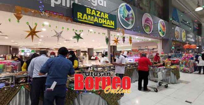 PATUH SOP: MYDIN RTE Bazar Ramadan cawangan Subang Jaya.