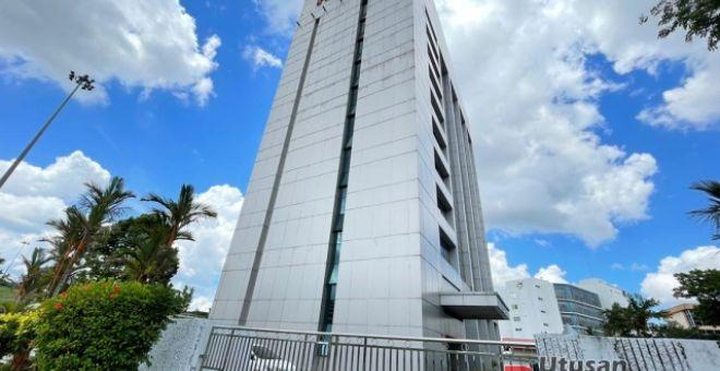 Bangunan KWSP di Kuching. -Gambar hiasan
