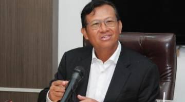 Menteri Pertanian dan Industri Asas Tani, Dato' Sri Ahmad Shabery Cheek.