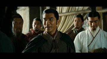 PELAKON UTAMA: Tony Leung Chiu-Wai watak Zhou Yu (kiri) dan Takeshi Kaneshiro sbg Zhu-ge Liang (kanan).