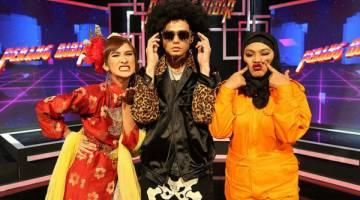 SIAPA JUARA: Neera Azizi, Ryzal Jaafar dan Zulin Aziz berebut gelaran Juara Perang Bibir 2017 dan hadiah wang tunai sebanyak RM30,000 di TV9 malam ini.