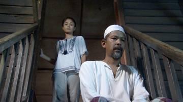 WATAK UTAMA: Tasha Shila dan Namron dlm 'Kasut Untuk Ayah' malam esok di TV1.