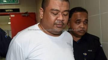 BERSALAH: Mohd Syawaldi dijatuhi hukuman mati oleh Mahkamah Tinggi semalam selepas disabit kesalahan atas pertuduhan mengedar dadah jenis heroin. — Gambar Bernama