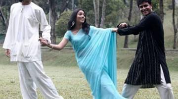 PELAKON UTAMA: 'Estet' menampilkan Farid Kamil, Shashi Tharan dan Jasmin sebagai pelakon.