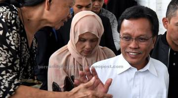BANTU SIASATAN: Mohd Shafie direman selama empat hari di Kota Kinabalu mulai semalam bagi membantu siasatan berhubung penyelewengan dana pembangunan luar bandar Sabah yang dianggarkan bernilai RM1.5 bilion.  — Gambar Bernama
