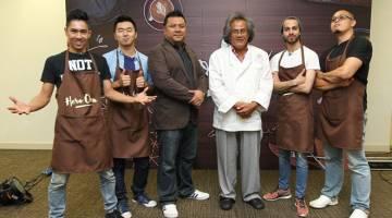 FINALIS: Ikhwan (kiri), Alex, Adam dan Amir bersedia untuk pertarungan akhir di dapur Hero Oven musim kedua.