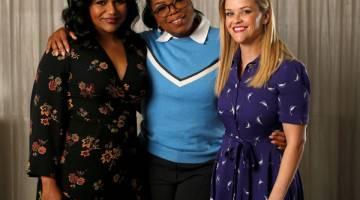 WATAK UTAMA: (Dari kiri) Mindy Kaling, Oprah Winfrey dan Reese Witherspoon.