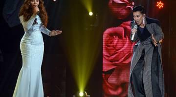 Siti Sarah dan Misha Omar