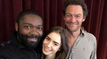 SIRI MINI BAHARU: David Oyelowo, Dominic West dan Lily Collins akan membintangi dalam siri baharu 'Les Misérables' di BBC.
