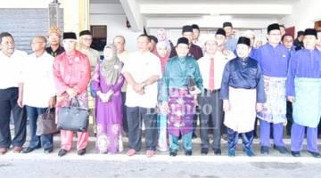 SEBAHAGIAN calon yang bertanding di kawasan Sipitang termasuk DUN Lumadan dan Sindumin.