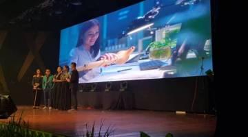 FILEM web Petronas sempena Pesta Kaamatan yang ditayangkan pada majlis Makan Malam Gala Unduk Ngadau tahun ini.