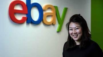 TERBAIK: Platform e-dagang global, eBay, yang melancarkan inisiatif 'Go Global with eBay' hampir setahun lalu, telah berjaya menarik lebih 3,500 perniagaan Malaysia, kata Wong Mei Inn dalam satu wawancara e-mel bersama Bernama. — Gambar Bernama
