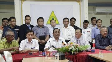 JAUJAN (tengah) ketika sidang media.