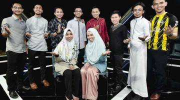 MALAM INI: Sepuluh peserta pilihan Da'i akan kembali beraksi di TV3 malam ini.