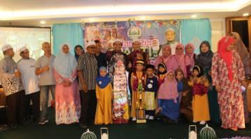 ZON Sandakan selaku naib juara keseluruhan Alam Ria PASTI Negeri Sabah.