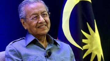 Pengerusi PH Tun Dr Mahathir Mohamad