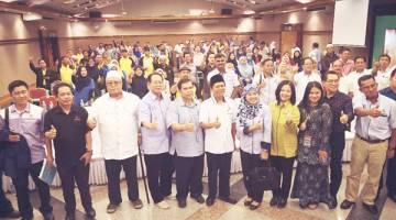 DAUD merakamkan foto bersama peserta-peserta yang hadir, termasuk pegawai dan kakitangan jabatan dan agensi kerajaan terlibat.