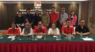 WAJAH BAHARU: Lantikan baharu Exco NSJA bagi sesi 2019-2020.