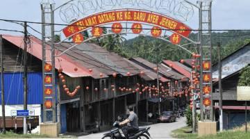 BERSEJARAH: Perkampungan Cina Hainan terbesar di Malaysia yang terletak tujuh KM dari pekan Kemasik, Terengganu telah wujud lebih 110 tahun lalu. — Gambar Bernama