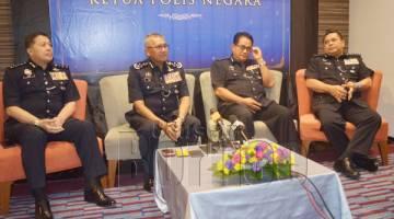 MOHAMAD Fuzi ketika sidang media.
