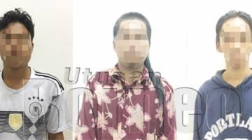 TIGA lagi suspek yang berjaya ditahan pihak polis dipercayai terlibat dalam kes pukul sehingga mencederakan dua warga tempatan.
