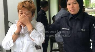 NAFI: Wei dibawa ke mahkamah bagi menghadapi dua pertuduhan menipu.