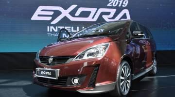 PINTAR: Harga jualan Exora 2019  bermula dari RM59,800 untuk varian Executive 1.6T CVT dan RM66,800 untuk Premium 1.6T CVT.