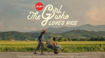 DIRAIKAN: Video bertajuk 'The Girl Who Loves Rice', video baharu sempena Hari Gawai dan Kaamatan.