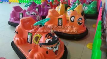 PERCUMA: Taman tema 'Hi Fun Theme' di Naim Street Mall @ Naim Bintulu Paragon dibuka secara percuma sempena Hari Sarawak, 22 Julai ini.