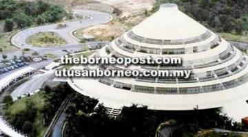 MERCU TANDA: Pejabat pentadbiran menempatkan beberapa jabatan dan agensi kerajaan termasuk penggerak pembangunan bandar Bintulu iaitu Lembaga Kemajuan Bintulu (BDA).