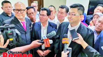 HANGAT: Hakim Lee Heng Cheong ketika ditemui media hari ini.