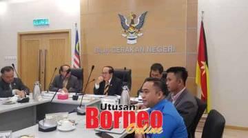 BAUM: Uggah nyadi chairman aum JPBN (Monsun Timur Laut) di Kuching kemari.