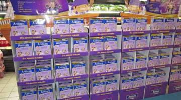 BAIK UNTUK KANAK-KANAK: Susu tepung Anmum Essential tiada gula tambahan yang diformulasi khas untuk kanak-kanak berusia tiga hingga empat tahun.