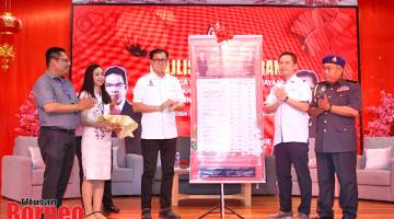LANCAR: Frankie melancarkan Skim Harga Maksimum Musim Perayaan (SHMMP) Tahun Baharu Cina 2020 Peringkat Negeri Sabah.
